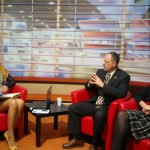 My interview on Romanian TV with Camelia and Mihalea